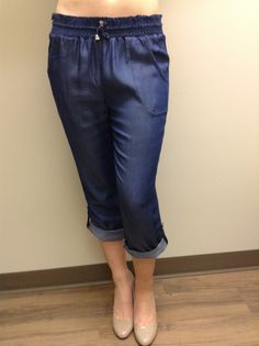 Denim Pull On Pant By Picadilly