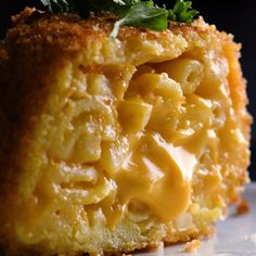 If you love mac and cheese (who doesn't?), you'll love this cheesy lava cake recipe that calls for fried mac and cheese! Best mac and cheese recipe ever! Appetizer Recipes, Snack Recipes, Dessert Recipes, Cooking Recipes, Snacks, Cooking Cake, Cooking Ideas, Cooking Pasta, Girl Cooking