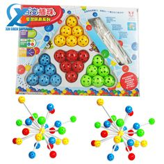 Magical Plastic Insert Beads Children Learning Toy Different Shaped Model Building Educational Toy Assemble Toy Fast Shipping