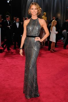 Stacy Keibler by Dior - Oscar 2013