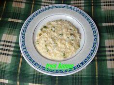 """""""Riso zucchine e scamorza alla menta"""" è un primo gustoso e leggero indicato per pranzo o per cena."""