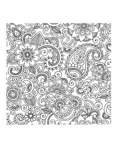 triptastic coloring pages | 大人の塗り絵 花 | 大人のカラーリング、カラー活動、花のスケッチ