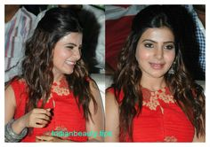 samantha prabhu hairstyles, heroine samantha hairstyles, samantha ruth prabhu hair styles, samantha's hairstyles with sarees, indian party wear hairstyles Bollywood Hairstyles, Latest Hairstyles, Celebrity Hairstyles, South Indian Hairstyle, Indian Hairstyles, Traditional Hairstyle, Indian Party Wear, Indian Beauty, Beauty Hacks