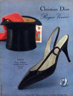 Christian Dior (Shoes) 1962 Roger Vivier                                                                                                                                                                                 More