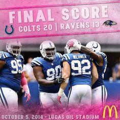 Colts vs. Ravens