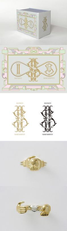 Jewelry Box|CI & Package Design|CLIENT: IS - INFINITY SERENDIPITY