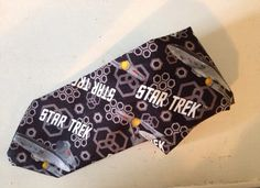 Star Trek fabric Necktie by TheGeekForge on Etsy, $15.00