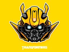 Transformers-Bumblebee-head with my painting style Bumblebee Transformers, Transformers Drawing, Transformers Autobots, Transformer Tattoo, Transformer Party, Bumble Bee Cartoon, Bumblebee Drawing, Hand Art, Comic Character