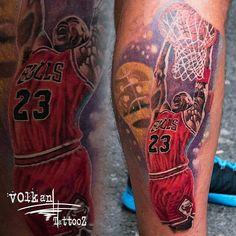 @Regrann from @volkantattooz -  His Airness,  todays work.  Hope you enjoy  #tattoo #tattoos #tattooed #tattooing #tat #tats #tatted #ink #inked #inkedup #art #artist #artistic #tattooartist #tattooist #tattooart #tattooshop #tattoolife #tattoooftheday #t