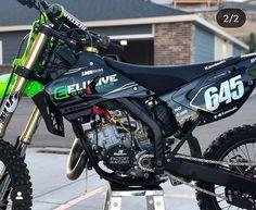 Motocross Love, Motorcross Bike, Cool Dirt Bikes, Mx Bikes, Kawasaki Dirt Bikes, Kawasaki Motorcycles, Dirt Bike Magazine, Monster Energy Supercross, Dirtbikes