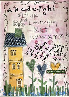 My lettering tutorial at frog dog studio 1arthouse.wordpress.com