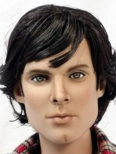 About Sam Winchester: Sam from Supernatural repainted by Tracy Weston from the Damon sculpt.