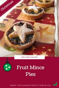 This Fruit Mince Pie recipe has a crumbly crust with a boozy spiced fruit filling soaked in brandy, orange, cinnamon, nutmeg and butter. Perfect for making in large batches for all those parties and lunches you have to attend, as they can be made and frozen in advance. #baking #christmasrecipes #christmas