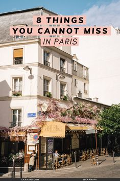 Planning a trip to Paris and wondering what to do? I have narrowed down my Paris itinerary to 8 things you absolutely cannot miss! The best non-cliche, off-the-beaten-path Paris things to see, do, eat, and drink - a must on all Paris itineraries. Paris France Travel, Paris Travel Tips, Travel Tours, Europe Travel Tips, European Travel, Paris Tips, Travel Trip, Travel Guides, Travel Destinations