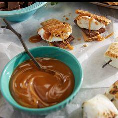 Creamy Caramel Sauce + S'mores │Tastefully Simple