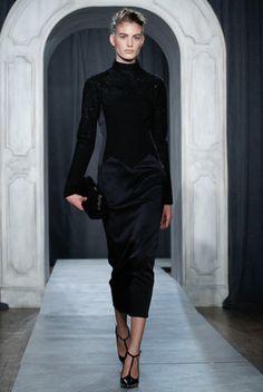2014 Fall Fashion Trend: Velvet Dresses - jason wu, fall 2014