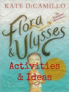 A great read aloud, Flora and Ulysses by Kate KiCamillo. Read it with your kids…