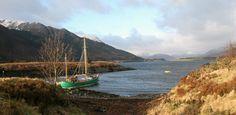 Glencoe on the west coast of Scotland on a crisp February morning.
