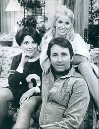 Three's Company......I love the episode where they have this big misunderstanding and laugh about it at the Reagle Beagle......