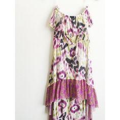 Anthropologie Lilka Ostara Mesh Chemise Dress