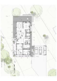 Casa BO / Plan B Arquitectos Good floor plan, strange exterior design.