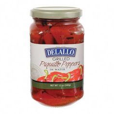 Delallo Grilled Piquillo Peppers - Case of 12 - 12 oz Barolo Wine, Small Pasta, Wine Baskets, Expensive Wine, Wine Case, Grilled Veggies, Health Shop, Wine Tasting, Dairy Free