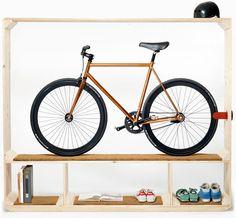 estante de bicicleta