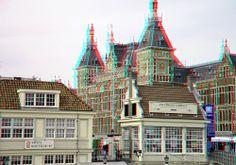 Central Station Amsterdam 3D