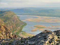 Tanafjorden from Raudberget, Finnmark