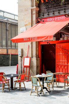 4. Anàlisis de llocs on allotjar-se, menjar i gaudir. Tradició i modernitat, moda, centre, ambient. Big Fish
