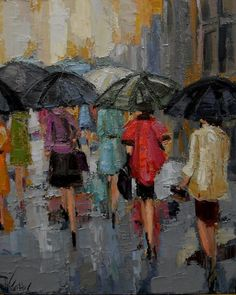 """""""AFTERNOON IN THE CITY"""" ~ Kathryn Trotter"""