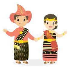 10 Gambar Pakaian Adat Terbaik Pakaian Gambar Pengantin Pengantin
