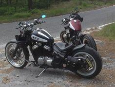Honda Shadow bobbers