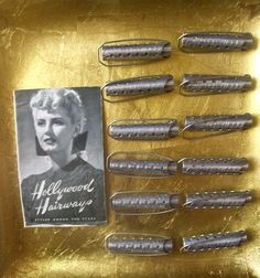 Vintage Hollywood Metal Curlers and Hair Styling by Jillian75