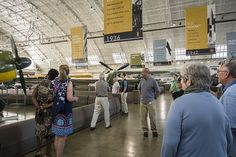 Cory Graff, Curator at FHC, gets the tour started (photo by Kevin Talbot)