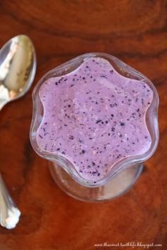 Blueberry Coconut Oatmeal Smoothie