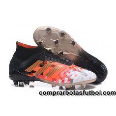 san francisco d1fb0 7669d Baratos Botas De Futbol Adidas Predator Telstar 18.1 FG Negro Cobre Gris