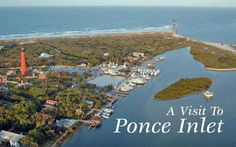 Fishing in the Inlet - You will LOVE this quaint town of Ponce Inlet!  Unique properties on the water or steps from the beach.