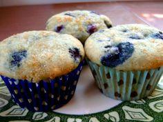 "Blueberry Lemon Muffins via ""The Joy of Vegan Baking"" by Colleen Patrick Goudreau"