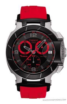 Tissot T Sport Mens Watch Red