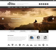 Impression WP Themehttp://themeforest.net/item/impression-premium-corporate-presentation-wp-theme/2174575?ref=ait $50  #webdesign #wordpress