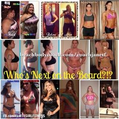 Join me on a challenge contact me FB.com/Heavenly323 or beachbodycoach.com/coachjanetf