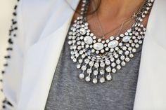 Collares que aportan a tu look sencillo un éxito asegurado!, ¿ lo has probado?