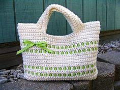 Crochet Summer Beach Bag TUTOR