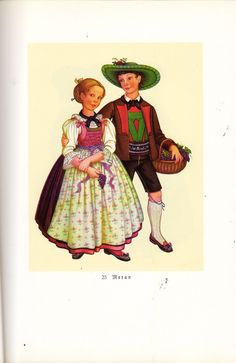 Meran Folk Costume, Traditional Dresses, Painting, Clothes, Art, Dirndl, Outfits, Art Background, Clothing