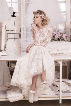 Vestidos de novia con un toque parisino