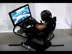 "BlueTiger Video 1: Evolution of Motion Simulators - This made me laugh, and and say ""yeah!"" Blue Tiger Simulators are awesome!"