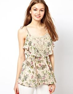 A Wear | A Wear Cami Top In Floral Print at ASOS