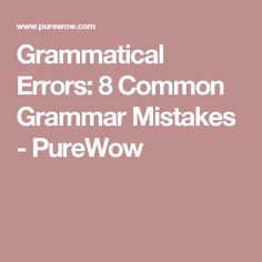 8 Grammatical Errors You Really Need To Stop Making. Resume  TipsMistakesGrammarCalligraphyPenmanshipLetteringCalligraphy Art