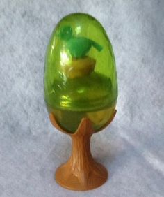 Vintage Avon Bird in Egg Perfume Bottle | eBay got this for Christmas from Aunt Dee when I was in 7th grade. Scent was Field flowers